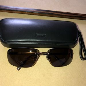COACH Brown Sunglasses S320 Taylor